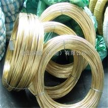 H65黄铜线黄铜丝 黄铜扁线 H70拉链黄铜毛线