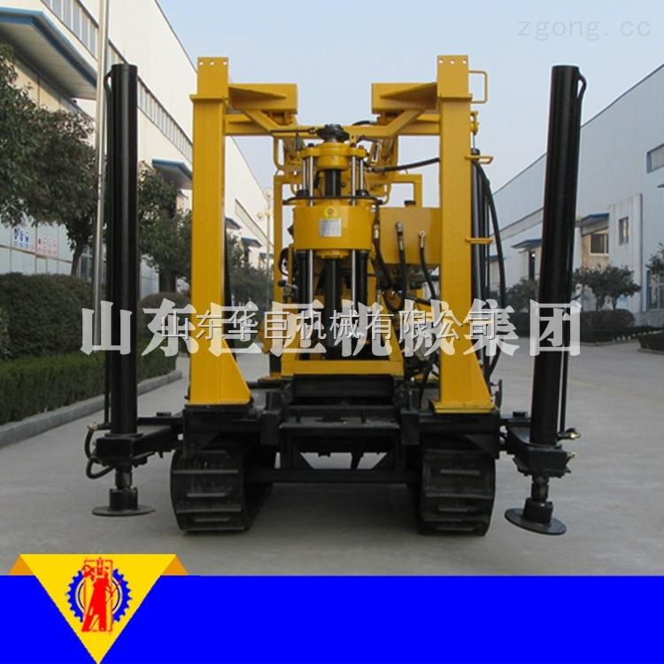 XYD-130橡胶履带水井钻机