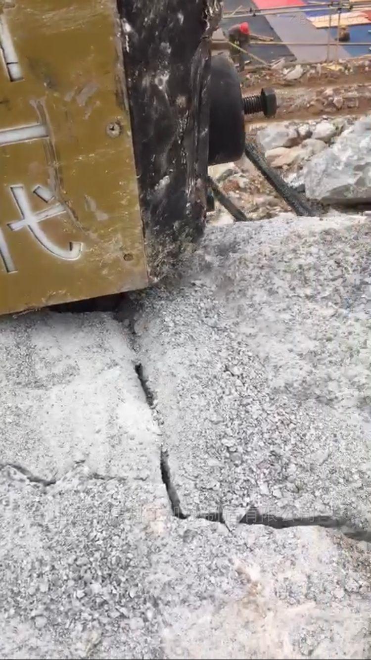 劈裂机岩石液压分裂机生产厂家排行