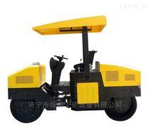 加速工作效率100%的自走式小型壓路機 駕駛倆輪小碾子 輕型座駕式壓地機省心省力