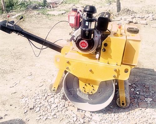 工程机械手扶式单轮柴油压路机