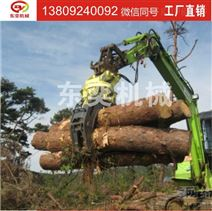 BY06型抓木器 挖掘机夹木工程使用抓木机