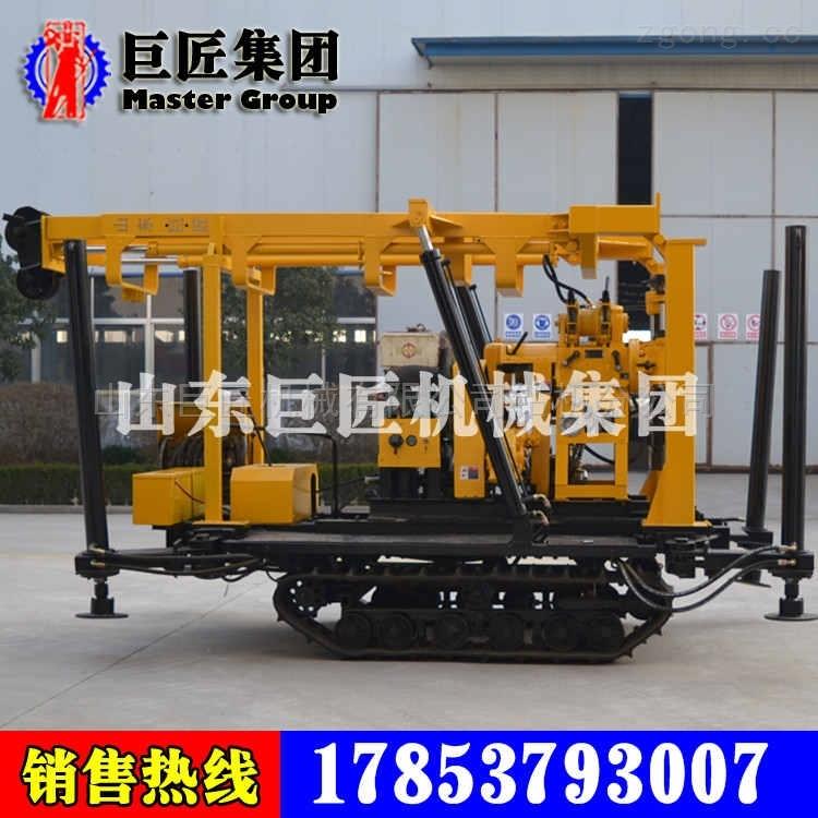 履带式打井机XYD-130百米液压水井钻机