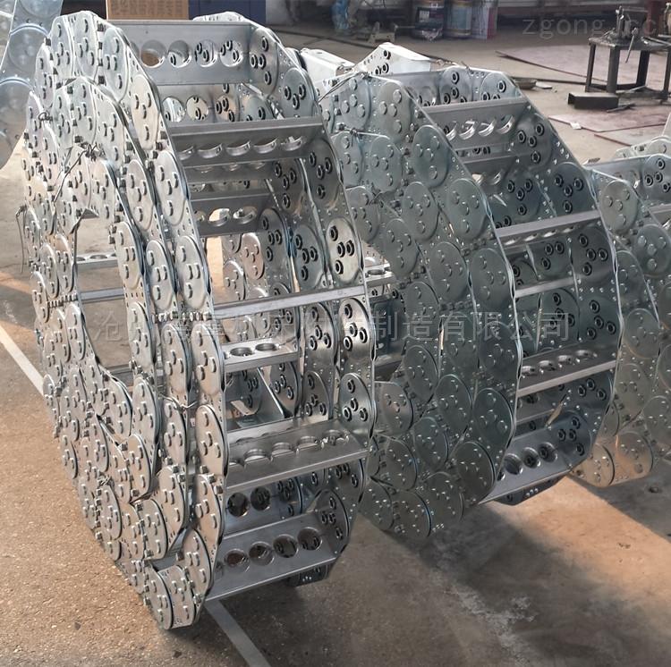 TL45-支撑板式电缆钢铝拖链