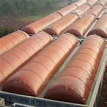 红泥沼气袋处理畜禽粪污取得了良好效果