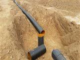 河南1300排污管厂家 HDPE钢带管