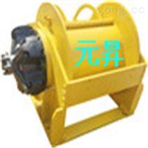 挖掘机拉木头拉树用双速10吨液压卷扬机