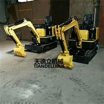 TDLW-10履带式小型挖掘机   挖土机