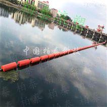 河道攔污浮筒裝置屬性 駐馬店攔截浮筒造價