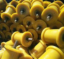 山东矿用125×500聚氨酯地滚轮