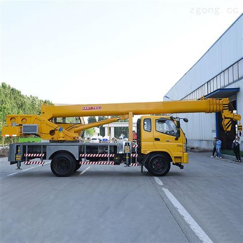 8吨福田汽车吊双节支腿小型工程机械起重机