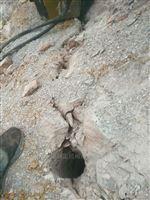 岩石开采破碎石灰岩分裂机资阳市新闻资讯