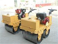 工程机械手扶式双钢轮震动压路机